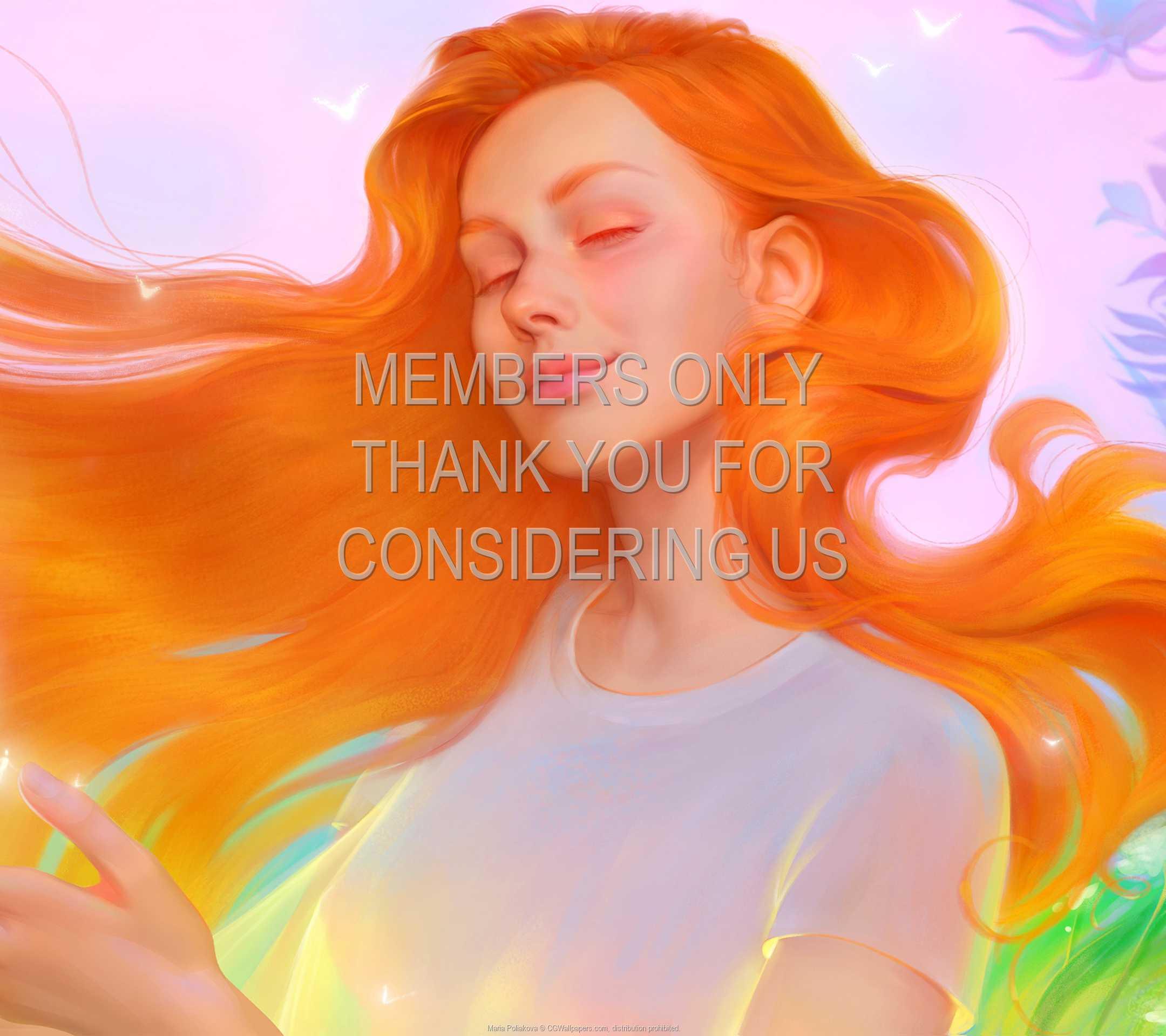 Maria Poliakova 1080p Horizontal Mobiele achtergrond 03