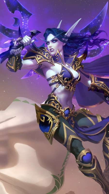 Battle for Azeroth Mobiele Verticaal achtergrond