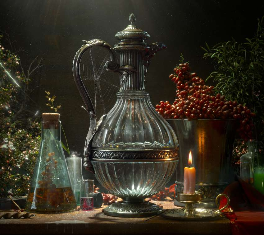 Mastering Lighting- Lesson 5: Still Life Mobiele Horizontaal achtergrond