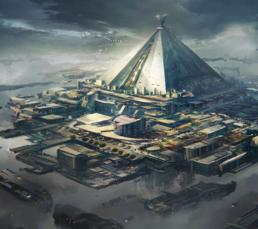 Game of Thrones redesign - Mereen Spaceport achtergrond