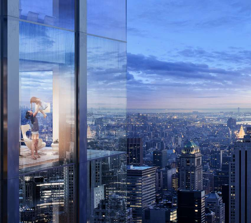 5th Avenue Tower | Exteriors achtergrond