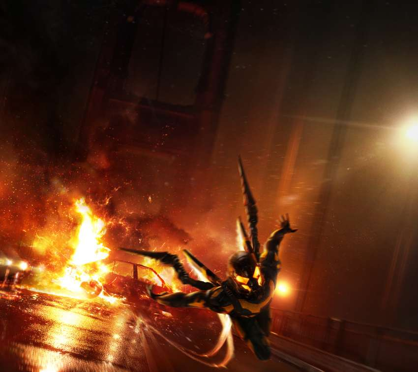 Ant-Man: YellowJacket's Sizzle-Reel, pitch concept Mobiele Horizontaal achtergrond