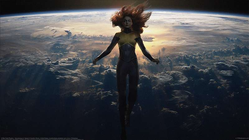 X-Men Dark Phoenix - Unconscious in Space achtergrond
