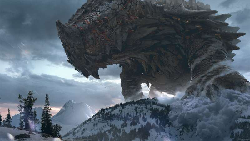 Brimstone: Gomorrah Traversing the Mountains achtergrond